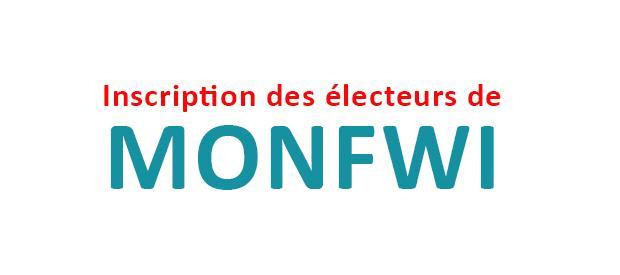 Inscription des électeurs de Monfwi